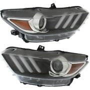 Fo2518124c Fo2519124c Hid Headlight Lamp Left-and-right Hid/xenon Lh And Rh