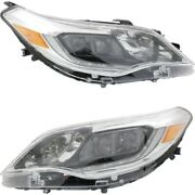 To2518148, To2519148 Hid Headlight Lamp Left-and-right Hid/xenon Lh And Rh