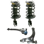 Control Arm Suspension Kit Set Of 4 Front Left-and-right For Chevy Sedan Lh And Rh