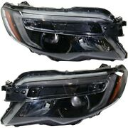 Headlight Lamp Left-and-right Ho2502167c Ho2503167c 33150tg7a12 33100tg7a12