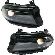 68294430af 68294431af Ch2502296 Ch2503296 Headlight Lamp Left-and-right