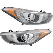 Headlight Lamp Left-and-right Hy2502173c Hy2503173c 92101a5050 92102a5050