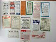 15-old Large Pharmacy Drugstore-apothecary-medicine Bottle Old Label Lot=
