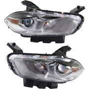 Headlight Lamp Left-and-right Ch2519151c Ch2518151c 68292802aa 68292803aa
