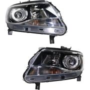 Headlight Lamp Left-and-right For Chevy Gm2503408c Gm2502408c Lh And Rh Colorado