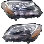 Headlight Lamp Left-and-right For Mercedes C Class Coupe Mb2502220c, Mb2503220c