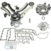 Head Gasket Set Oil Pump Timing Chain Kit For 2002-2003 Jeep Liberty Kit