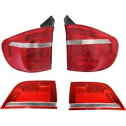 Kit Tail Light Lamp Left-and-right Inside Lh And Rh E70 X5 Series For Bmw 07-10