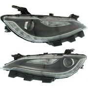 Hid Headlight Lamp Left-and-right Hid/xenon Ch2503263 68285847ab Ch2502263