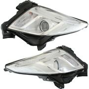Hid Headlight Lamp Left-and-right Hid/xenon Lh And Rh For Xts Gm2502374, Gm2503374