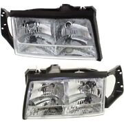 Headlight Lamp Left-and-right For De Ville Gm2503165 Gm2502165 Lh And Rh Deville