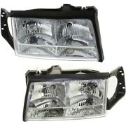 Headlight Lamp Left-and-right For De Ville Gm2503165, Gm2502165 Lh And Rh Deville