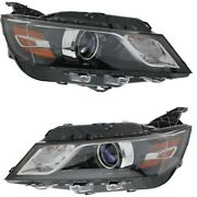 Headlight Lamp Left-and-right For Chevy Gm2502388c Gm2503388c Lh And Rh Impala 14