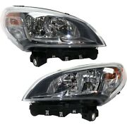 Headlight Lamp Left-and-right Ch2503278 Ch2502278 68322691aa 68322692aa