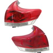 Set Of 2 Tail Lights Lamps Left-and-right Outside To2804109q To2805109q Pair