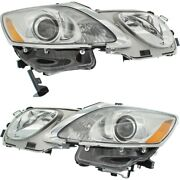 Hid Headlight Lamp Left-and-right Hid/xenon Lx2518156, Lx2519156 Lh And Rh