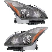In2503148, In2502148 Hid Headlight Lamp Left-and-right Hid/xenon Lh And Rh For G37