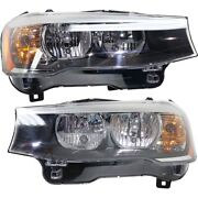 Headlight Lamp Left-and-right Lh And Rh For Bmw X3 X4 15-18 Bm2518142 Bm2519142