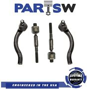 Front Inner And Outer Tie Rod Ends For Honda Civic 2006-2011 1.8l L4 Engine Models