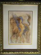 Gary Benfield And039spring Time Iiand039 Signed Numbered Limited Edition Nude And Equine
