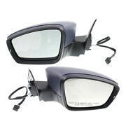 Set Of 2 Mirrors Left-and-right Heated For Vw Vw1321147, Vw1320147 Lh And Rh Pair