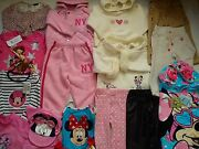 New Used Nice 30 Next Bhs Disney Store Bundle Baby Girl Clothes 12/18 Mths 4.2