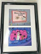 Rare Hand Painted Limited Edition Animation Cel The Ruff And Ready Show