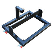 Titan Black Suitcase Weight Cart With Receiver To Transport Weights And Ballast