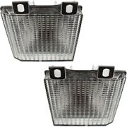 Pair Set Of 2 Parking Lights Lamps Left-and-right For Chevy Suburban Express Van