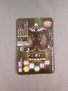 Rare Real Steel Zeus Nukefist Robot Game Card Del Taco Ultimate Challenge 2011