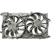 3.6 For 13-18 Cadillac Xts 14-17 Chevy Impala Radiator Ac Condenser Cooling Fan