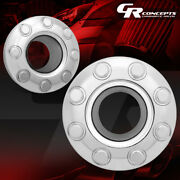 Left+right Front Wheel Center Hub Cap For 05-18 Ford F350 Super Duty 4wd Dually