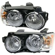 Headlight Lamp Left-and-right For Chevy Gm2502359, Gm2503359 96830971, 96830972