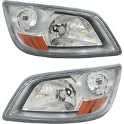 Headlight Lamp Left-and-right Lh And Rh For Hino 165 185 81110e0530 81150e0530