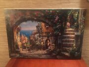 """Cao Yong """"the Vision Beyond"""" Canvas A/p 28x42 Signed Artist Proof W/coa -gift"""