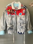 Rare Archie And The Gang Too Cute Vintage Denim Jacket One Sizeandnbsp