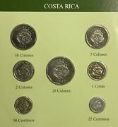 Coins Sets Of All Nations - Costa Rica