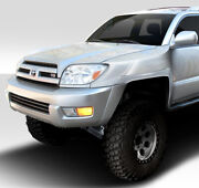 Off Road 4.5 Inch Bulge Front Fenders 2 Piece For 4runner Toyota 03-09 Dura