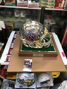 Super Bowl 25 Chrome Helmet Full Size Ltd Edition Signed By Otis Anderson Jsa