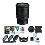 Nikon Nikkor Z 24-70mm F/2.8 S Lens With Filters Software And Accessory Bundle