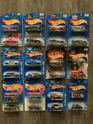 Hot Wheels 12 Diff Promotional Limited 2 Packs Lot 24 Cars All Packaged 570