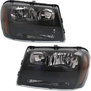 Headlight Lamp Left-and-right For Chevy Gm2503304 Gm2502304 25970908 25970909