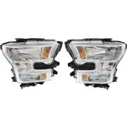 Headlight Lamp Left-and-right For F150 Truck Lh And Rh F-150 Fo2502335 Fo2503335
