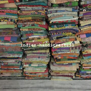 Indian Vintage Kantha Quilts Blankets Wholesale Lot 10 Pc Kantha Throws Handmade