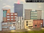 S Scale Scratch Built Up - Andldquo10 City Building Flats 3d Collage 2andrdquo Background