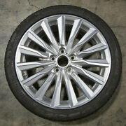 Oem Audi A3 S3 18 Wheel Rim And Continental Performance Summer Tire 8v0601025cd
