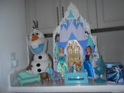 Disney Frozen Anna And Elsa 2 In 1 Ice Palace Castle Playset With Accessories