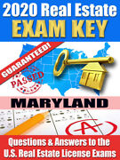 2020 Maryland Psi Real Estate Exam Prep Study Guide Questions And Answers [cd-rom]