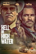 61319 Hell Or High Water Filming Locations Decor Wall Print Poster