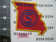 Army Patch Missouri National Guard State Ocs Officer Candidate School  Scarce
